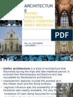 Gothic,Byzantine Architecture (2)
