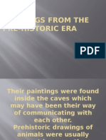 Paintings From the Pre-historic Era