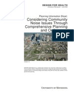 Considering Noise Through Comprehensive Planning and Ordinances - DfH USA - 2008