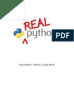 Python 3 Cheat Sheet