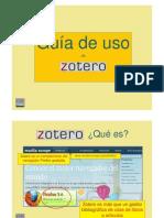 Zotero - Guía de Uso
