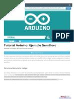 Arduino Semaforo