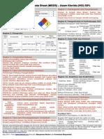 MSDS - Asam Klorida (HCl).pdf