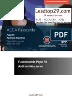 2015 BPP F8 Passcards