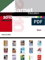 Garnet Education Catalogue 2010