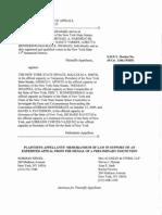 Plaintiffs-Appellants Memo of Law
