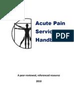 Acute Service Pain Handbook 2011