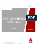 HUAWEI BTS3012 Hardware Structure