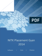 NITK Placement Gyan 2014