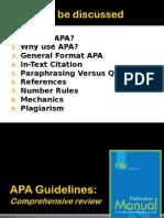 Apa Comprehensive