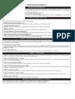 Tabla Código Tributario, Conceptos y Multas