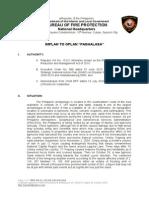 BFP-Implan to Oplan Paghalasa