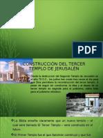 Construcción Del Tercer Templo de Jerusalén