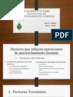 Fundamentos Sobre Tecnologia de Aprovechamiento Forestal