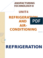 Refrigeration and Air Conditioning DOTE syllabus