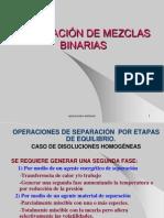 Fraccionamiento Mezclas Binarias