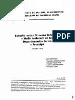 Estudio Sobre Mineria Informal de Arequipa e Ica