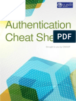 autentication Cheatsheet