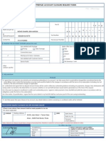 New Account Termination Form