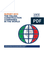 Rapporto 2010 Sulle Imprese Italiane Edili Nel Mondo