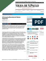 A bruxaria literária de Clarice Lispector - 02_08_2015 - Ilustríssima - Folha de S.pdf