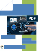 Secured Authentication using 3D Password by Applying Ultimate Planar Algorithm