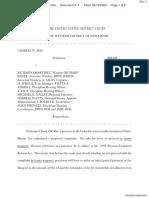 Ray v. MARTINEZ et al - Document No. 4