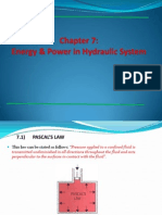 Chapter 7 Energy of Hydraulic System