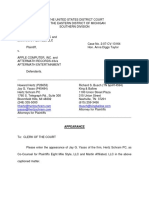 Eight Mile Style, LLC et al v. Apple Computer, Incorporated - Document No. 22
