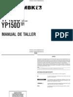 Manual Taller Majesty 2001