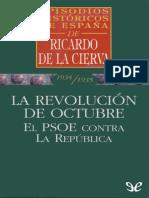 La Revolucion de Octubre - Ricardo de La Cierva