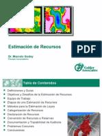 Estimación de Recursos Rev1 Por Marcelo Godoy