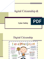 digital citizenship and cyber safety