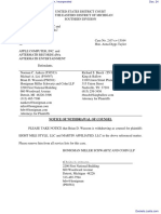 Eight Mile Style, LLC et al v. Apple Computer, Incorporated - Document No. 24