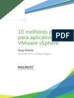 As 10 Melhores Práticas Para Aplicativos No Vmware VSphere