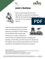E2 Lindas Holiday