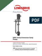 Ingersoll Dresser - Flowserve - Bombas ESP2