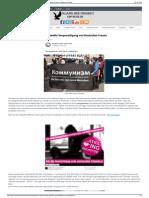 Die Antideutsche Antifa Fordert Gezielte Vergewaltigung Von