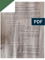 Acta de Acuerdos Vicerrectoría del Campus San Felipe –Estudiantes movilizadxs.