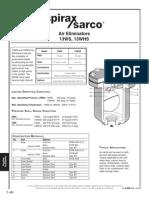 Air Eliminators 13WS WHS-Technical Information