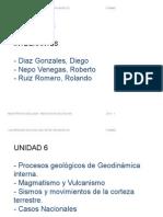 Procesos Geologicos de Geodinamica Interna.