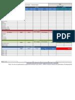 Hotel Daily Revenue Report Sample