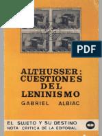 Albiac, Gabriel - Louis Althusser. Cuestiones del leninismo [1976].pdf