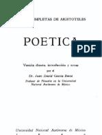 Aristóteles Poética
