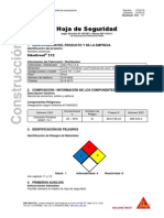 MSDS - SikaGrout 212.pdf