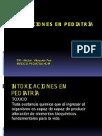 Intoxicaciones Ped - Urp