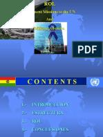 NACIONES UNIDAS - Rol Asesores MILITARES