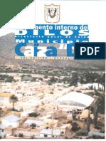 """Reglamento Interno del Directorio Local de Salud (DILOS) Municipio Caiza """"D"""""""