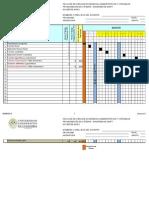 Diagrama de Gantt Mat. Aplicadas 2015-2