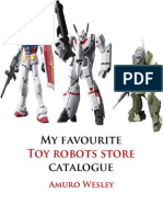 My Favourite Toy Robots Store Catalogue